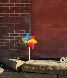 colourful pinwheel
