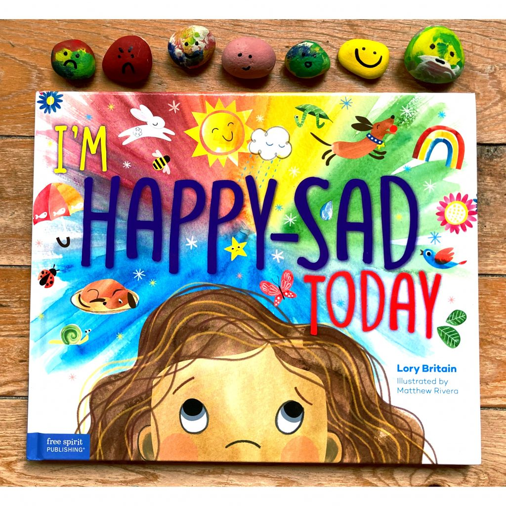 "Photo of the children's book ""I'm happy-sad today"" by Lory Britain"