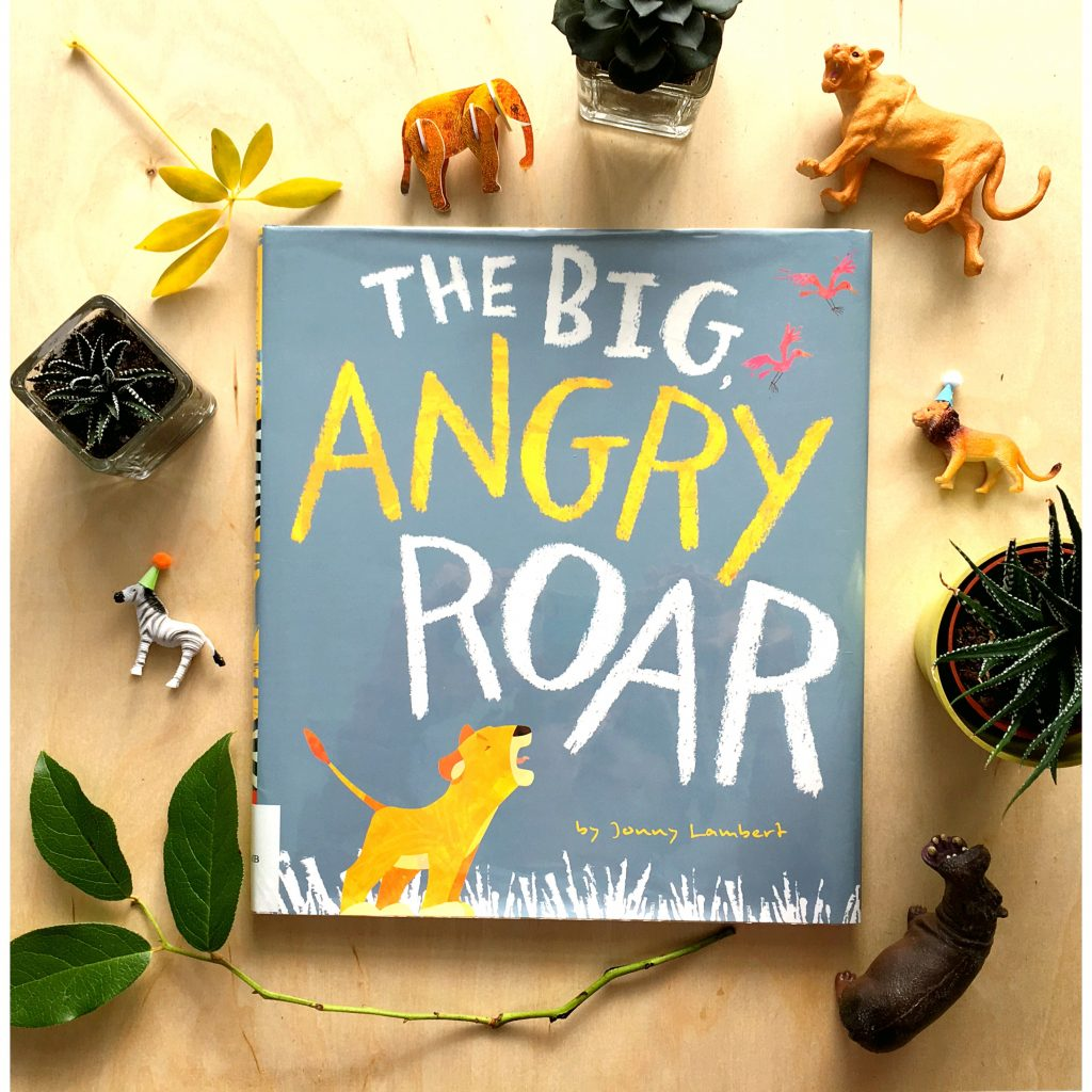 "Photo of ""The Big Angry Roar"" children's book by Jonny Lambert"