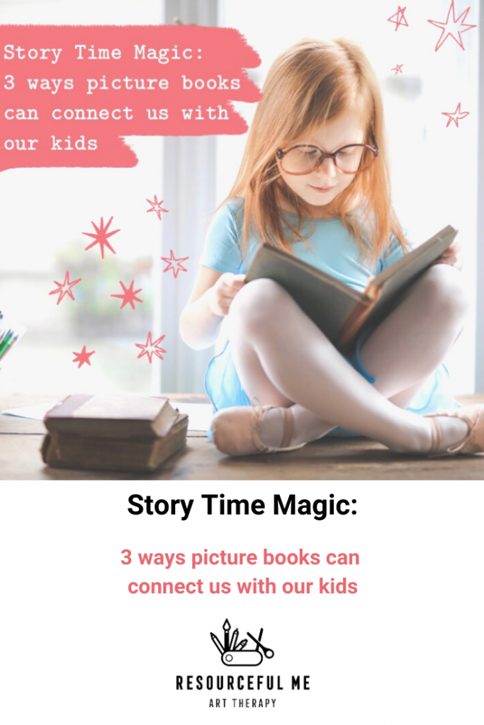 Pinterest graphic with title of blog post and feature image
