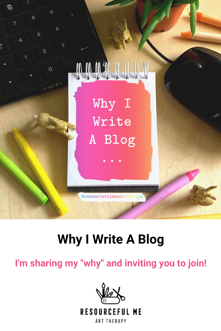 Pinterest graphic with feature image and title of blog post